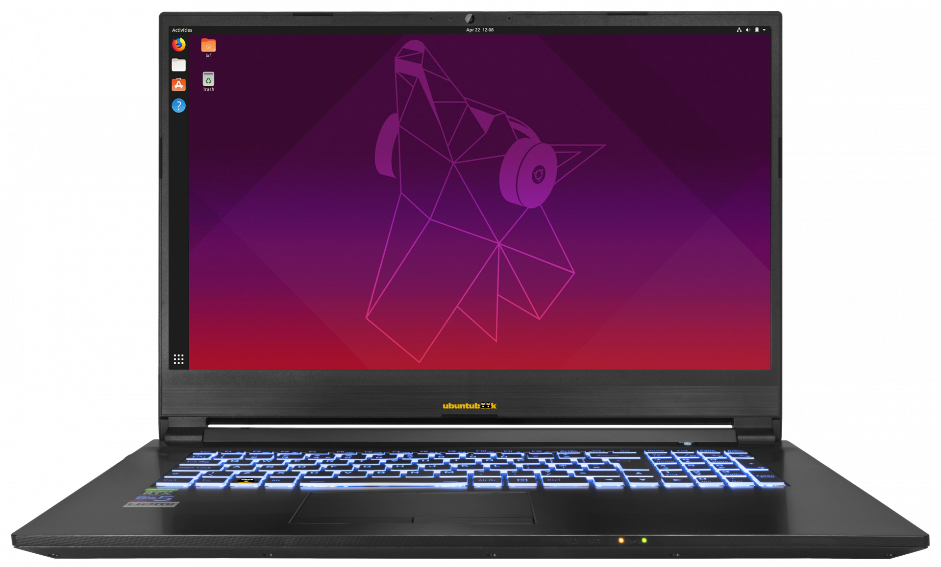 Ubuntu NoteBook 17.3